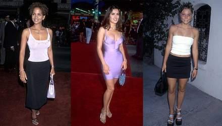 Що носили голлівудські модниці 20 років тому: добірка фото