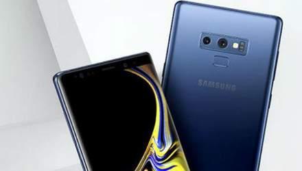Смартфон Samsung Galaxy Note9 показали на реальному фото