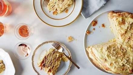 """Торт """"Наполеон"""": рецепт приготування популярного десерту"""
