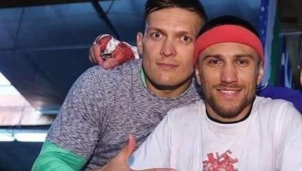 Ломаченко вступился за Усика перед критиками в адрес чемпиона: фото