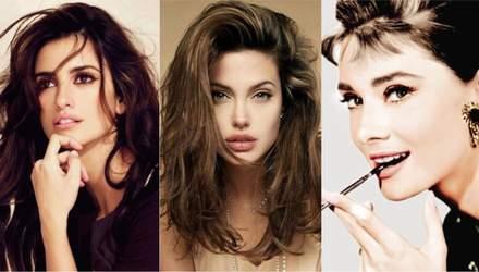 Одрі Хепберн, Софі Лорен, Анджеліна Джолі: експерти склали рейтинг найкрасивіших брюнеток