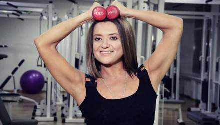 Наталія Могилевська похвалилася спортивною фігурою: фото