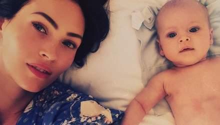 Меган Фокс показала уникальное фото своего младшего сына
