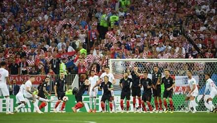 Хорватія – Англія: відео голів та моментів матчу Чемпіонату світу