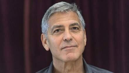 В сети появилось жуткое видео ДТП с участием Джорджа Клуни