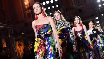 Бренд Versace встановив фешн-рекорд в рекламі нової колекції: яскраві кадри