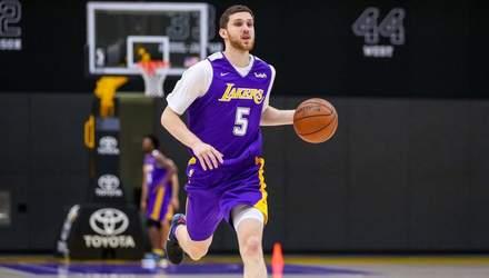 """Українець Михайлюк допоміг """"Лейкерс"""" вийти у півфінал Літньої ліги НБА"""