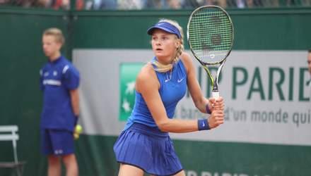 Українка Ястремська вперше потрапила в топ-100 найсильніших тенісисток світу