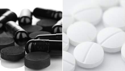 Черный или белый уголь: действие, противопоказания и побочные реакции препаратов
