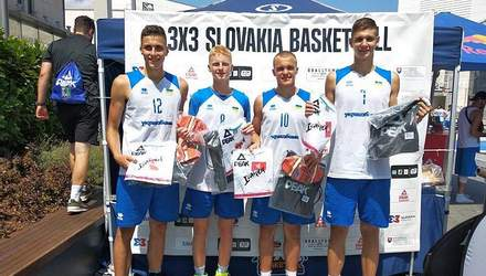 Юнацька збірна України з баскетболу перемогла на турнірі в Словаччині