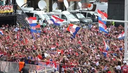 Як збірну Хорватії зустріли після ЧС-2018: фото, відео