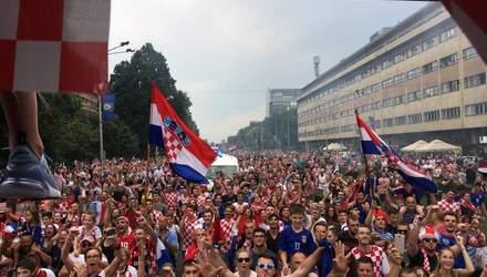 Как сборную Хорватии встречали после ЧМ-2018: фото, видео