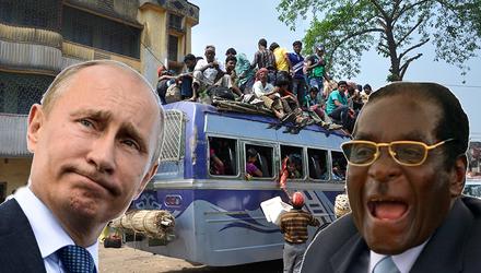 Путин – прототип африканского лидера: почему Россия вскоре превратится в Зимбабве