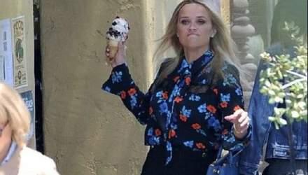 """Різ Візерспун кинула морозиво в Меріл Стріп на зйомках серіалу """"Велика маленька брехня"""": фото"""