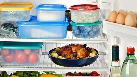 Чому не можна зберігати їжу в харчових контейнерах