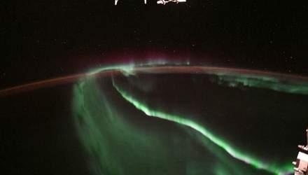 Астронавт сделал невероятный снимок полярного сияния из космоса