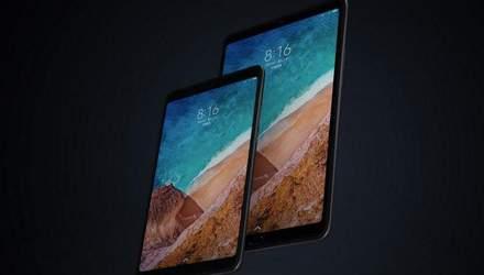 """Xiaomi представила новий планшет Mi Pad 4 Plus, який має стати """"прямим конкурентом"""" iPad"""