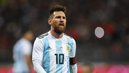 Лионель Месси неожиданно приостановил выступления за сборную Аргентины