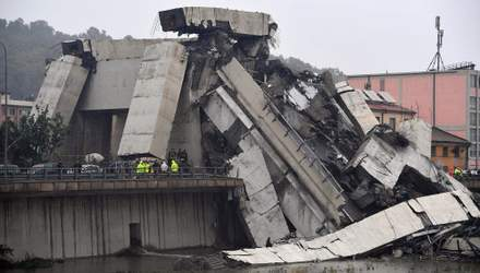 Обвал мосту у Генуї: три ймовірні причини трагедії
