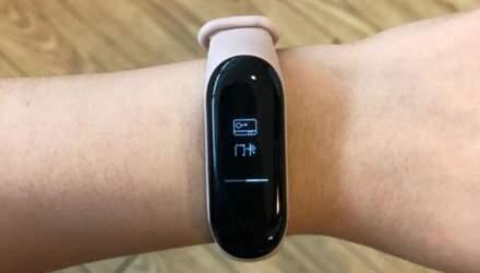 Фитнес-трекер Xiaomi Mi Band 3 с модулем NFC показали на фото