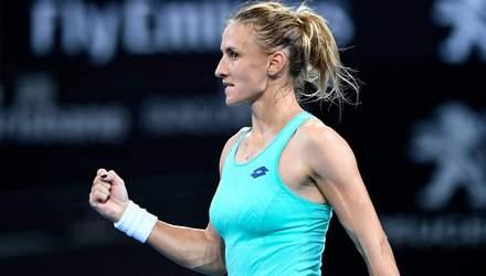 Українка Цуренко обіграла дев'яту ракетку світу на престижному турнірі серії WTA