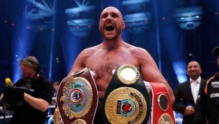 Ф'юрі обізвав трьох відомих боксерів бомжами і відмовився з ними боксувати