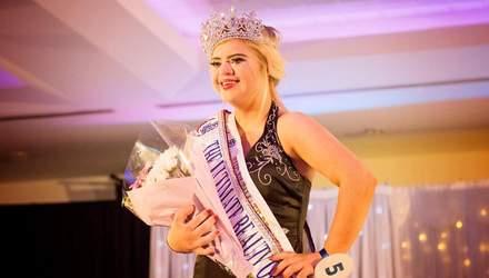 Дівчина з синдромом Дауна стала переможницею конкурсу краси
