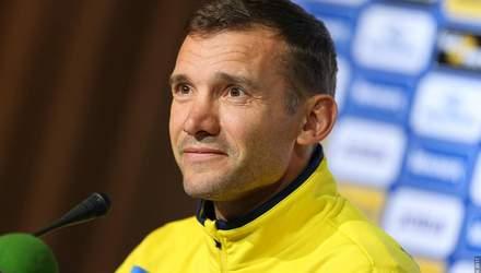 Андрей Шевченко вызвал 8 легионеров в сборную Украины перед Лигой Наций