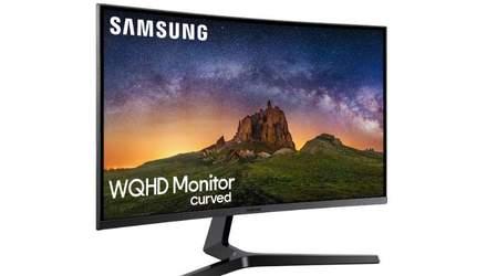 Samsung представила линейку игровых мониторов с изогнутым дизайном