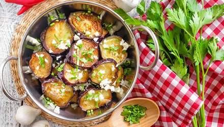 Салаты на зиму из баклажанов: простые рецепты приготовления