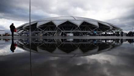 Построенный к ЧМ-2018 в России стадионе отключили от энергоснабжения из-за долгов