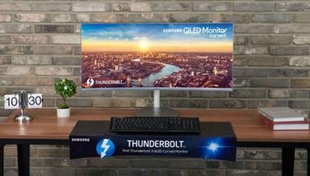 Samsung представит  уникальный монитор