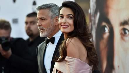 Джордж Клуні зізнався, як Амаль завоювала його серце