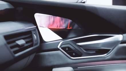 Камеры и дисплеи вместо зеркал: компания Audi внедрит виртуальную концепцию в электрокроссоверы