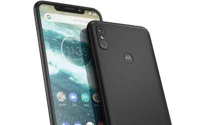 Motorola показала новые смарфтон One и One Power, которые очень напоминают iPhone X