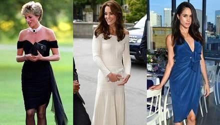 Хто з представниць королівської сім'ї Великобританії одягав мінісукні: фото