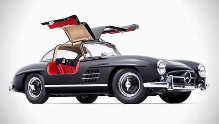 В Германии похитили раритетный Mercedes