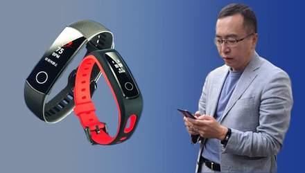 "Honor Band 4: председатель бренда ""засветил"" главного конкурента фитнес-трекера Xiaomi Mi Band 3"