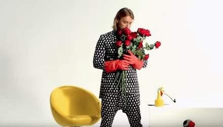 З трояндами і поцілунками  Олег Винник презентував новий звабливий кліп на  пісню
