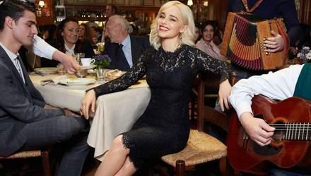 Емілія Кларк знялась для кампейну Dolce & Gabbana: яскраві кадри