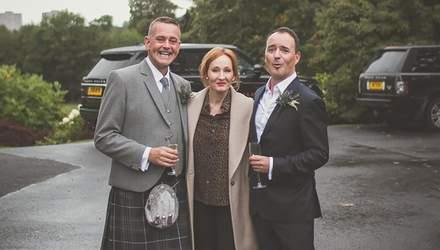 Джоан Роулінг випадково стала гостею на весіллі: радісні фото молодят