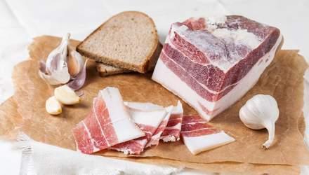 Чому потрібно регулярно їсти сало: цікаві факти