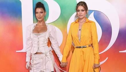 Джіджі та Белла Хадід прийшли на світську подію в сексапільному одязі: фото