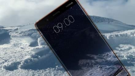 """Смартфон Nokia 9 """"засветился"""" в неожиданном месте"""