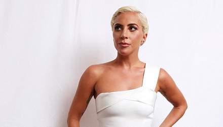 Леді Гага приміряла дизайнерську сукню від Вікторії Бекхем: фотофакт