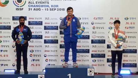 Українець став чемпіоном світу з кульової стрільби
