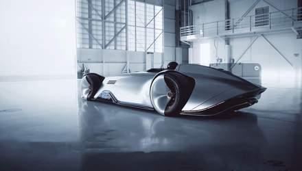 Mercedes-Benz выпустил электросуперкар в стиле ретро с панелью дополненной реальности