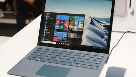 Тонкий корпус і штучна замша – з'явились фото ноутбука Microsoft Surface Laptop 2