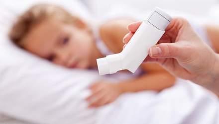 Вживання популярних ліків спричиняє астму у дітей