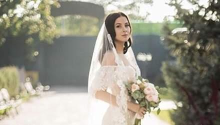 """Екс-учасниця гурту """"ВІА Гра"""" Анастасія Кожевнікова вперше показала весільні фото"""